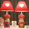 Modern LED Table Lamp Resin Couple Cute Wedding Decorate Bedroom from Singapore best online lighting shop horizon lights