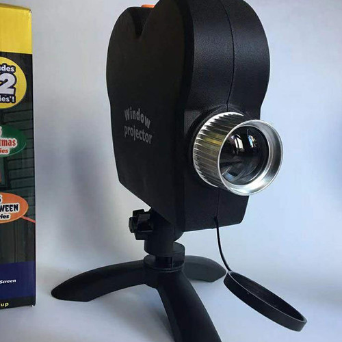 Santa Claus Retro Christmas Projector Light for Halloween (Front view of this projector)