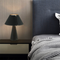 Post-modern LED Table Lamp Luxury Leather and Metal Bedroom Study