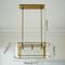 Nordic LED Pendant Light Metal Acrylic Simple Modern Living Room Study Dimension