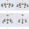 Lamps with different bulb numbers