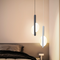 Application of two lamps beside the bed