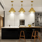 The use of lights in the kitchen