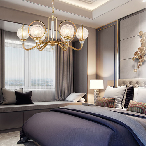 Use of lights in bedroom