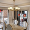 Use of lights in dining room