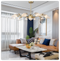 Postmodern LED Chandelier Light Creative Personality Metal Glass Dining Room Living Room Use of lights in livingroom