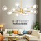 LED light Chandelier Metal Support Magic Bean  Nordic Creative Style from best online lighting shop Horizon Lights