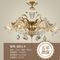LED Light Chandelier European Crystal Copper body Victoria Style