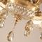 Details of European Style LED Chandelier Light Flower Crystal