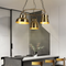 Nordic Style LED Pendant Light Creativity Metal Living Room Bedroom