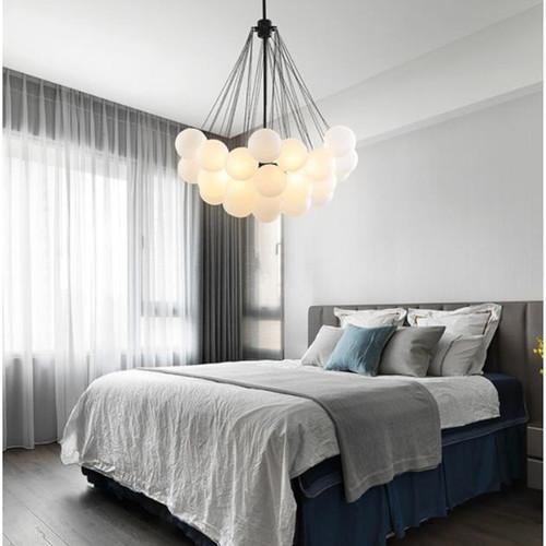 Nordic Style LED Pendant Light Warm Creative Glass Children's Room Living Room Dining Room