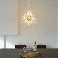 Nordic LED Chandelier Lights Design Dandelion Shape Charming Living Room