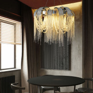 Faro de Capri, Tassel Italian Chandelier for Post modern and Victorian  (main)
