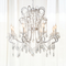 American Retro LED Chandelier Light Crystal Metal Living Room Dining Room from Singapore best online lighting shop Horizon Lights