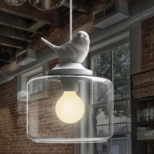 Nordic LED Pendant Light Creative Lovely Glass Resin Dining Room Bedroom from Singspore best online lighting shop Horizon Lights