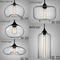 Nordic LED Pendant Light Creative Luxurious Metal Glass Dining Room Living Room