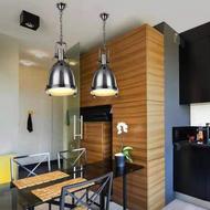 Modern LED Pendant Light Retro Luxurious Metal Glass Dining Room Bar
