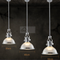 Modern LED Pendant Light Retro Luxurious Metal Glass Dining Room Bar