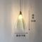 Nordic Pendant Light Creative Elegant Copper Glass Dining Room Bedroom