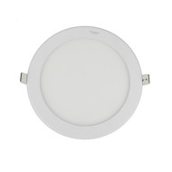 Circle LED panel downlight 190mm (front)