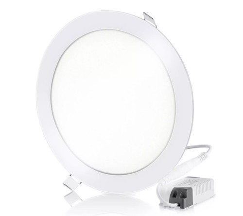 3 Color Round LED panel downlight 180mm (front)