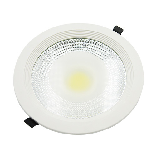 Circle COB recessed panel downlight