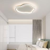 Metal Aluminum Silica gel Irregular LED Ceiling Light for Modern