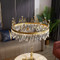 Princess Crown , Metal K9 Crystal LED Chandelier Light for Modern and Nordic