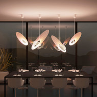 Universe , Acrylic Metal LED Pendant Light for Modern and Nordic
