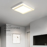Metal Acrylic Square / Rectangle LED Ceiling Light for Modern Simple
