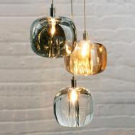 Spark , Glass Metal LED Pendant Light for Post Modern