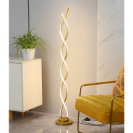 Helix floor lamp for Minimalist and Modern
