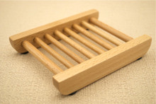 SLATTED LADDER WOODEN SOAP DISH Dishes Solid Beech Wood Beechwood Handmade Soaps Wholesale BULK