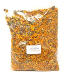 1 lb DRIED CALENDULA PETALS MARIGOLD 100% Natural Flowers OFFICINALIS Botanicals Herbs Herbal Bath Tea Potpourri Soap FOOD GRADE CULINARY TEA