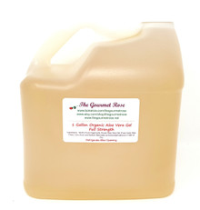 1 GALLON ORGANIC ALOE VERA Gel Juice All Natural Healing Food Grade Full Strength Digestion Heartburn Relief Health Smoothies