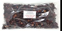 1 lb DRIED HIBISCUS WHOLE FLOWERS TEA 100% Natural Herbal Botanicals Herbs Bath Tea Potpourri Soap FOOD GRADE CULINARY