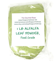 1 lb ALFALFA POWDER NON-GMO Pure Food Grade Natural Green Soap Colorant Natural Wholesale Bulk