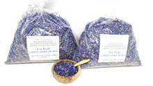 1 lb EDIBLE BLUE CORNFLOWER PETALS Dried Flowers Herbs 100% Natural Tea Culinary Grade Bachelor Buttons 16 oz