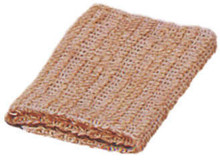 SISAL WASHCLOTH 100% Natural Fiber Bath Body Skin Exfoliation Agave Ayate Wash Cloth 500 Loop