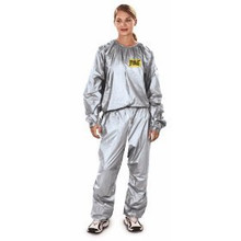 EVERLAST SAUNA EXERCISE SUIT Body Spa Wrap Loose Inches One Size Fits Most USE IN CONJUNCTION WITH DEAD SEA MUD Or OUR KAOLIN CLAY, DEAD SEA SALTS & KELP POWDER