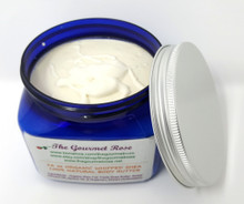 16 oz ORGANIC WHIPPED SHEA BUTTER Body Cream Lotion Souffle' Yogurt Anti Aging Dry Winter Skin Remedy 100% Natural