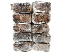 10 lb Pounds IMPORTED ORGANIC AFRICAN BLACK SOAP Alata Anago Handmade 100% Natural Ghana Imported Fresh Bulk Wholesale Authentic Real 160 oz