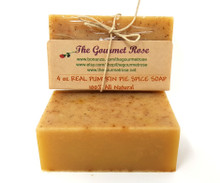 4 oz REAL PUMPKIN Shea Butter 100% All Natural Glycerin Soap Bath Body Bar Made With Essential Oils BUY 5 GET 1 FREE