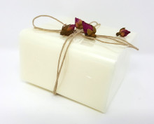 1 lb SOY MILK MELT AND POUR SOAP Plant Vegetable Derived  Organic Soymilk 100% All Natural White Base VEGAN