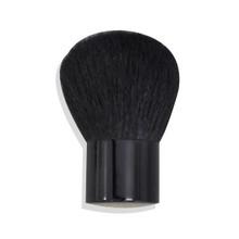 LARGE BLACK FULL COVERAGE KABUKI BRUSH Bare Makeup Minerals 100% Natural Goat Bristles