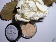 Sample Jar GOLDEN MINERAL VEIL Finishing Setting Loose Mineral Booster Powder Bare Flawless Minerals Photogenic Oil Absorbing Finish Cover Matte Yellow Corrector Dark Under Eye Concealer Trial Size WORKS WELL WITH FAIR, LIGHT & MEDIUM WARM SKIN TONES