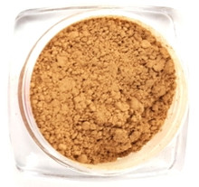1 oz #7 MEDIUM WARM Minerals Sheer Acne Cover Foundation Bare Makeup Bulk Wholesale Refill Bag MEDIUM SKIN WITH WARM OLIVE TONES