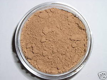 Sample Jar TAN COOL Minerals Sheer Acne Cover Foundation Bare Makeup Trial Size TAN SKIN WITH RED UNDERTONES #8