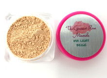 #4A LIGHT BEIGE SAMPLE JAR Minerals Sheer Acne Cover Foundation Bare Makeup Trial Size ~ LIGHT SKIN WITH NEUTRAL TONES