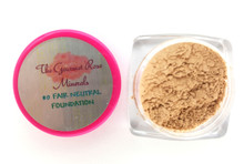 #0 FAIR NEUTRAL Sample Size Trial Size Mineral Foundation Bare Makeup 100% Natural Pure FAIR SKIN WITH NEUTRAL TONES